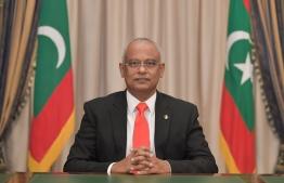 President Ibrahim Mohamed Solih. PHOTO/PRESIDENT'S OFFICE