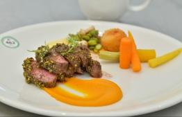 A dish prepared at the International Culinary Challenge. PHOTO: NISHAN ALI / MIHAARU