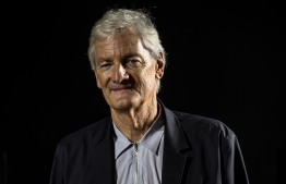 """(FILES) In this file photo taken on October 11, 2018, British industrial design engineer and founder of the Dyson company, James Dyson, poses during a photo session at a hotel in Paris. - British electric appliance pioneer James Dyson, famed for his vacuum cleaners, announced Thursday, October 10, that he has abandoned his bid to mass produce electric cars because it was not """"commercially viable"""". (Photo by Christophe ARCHAMBAULT / AFP)"""