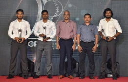 President Solih taking part in the Milan Cricket Award Night 2019. PHOTO: PRESIDENT'S OFFICE