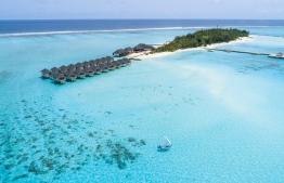 An aerial photograph of Summer Island Maldives. PHOTO: SUMMER ISLAND