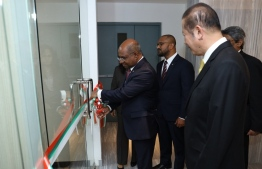 Foreign Minister Shahid opens Maldivian Embassy in Thailand. PHOTO: FOREIGN MINISTRY