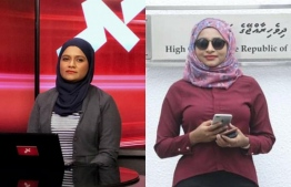 Two RaajjeTV journalists were sacked over meeting the ACC, allegedly without the permission of their seniors. IMAGE/MIHAARU