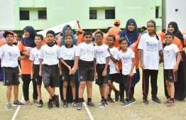 Over 400 children with disabilities, 14 schools and 4 partner NGOs took part in the Dhiraagu Special Sports Festival. PHOTO: DHIRAAGU