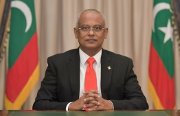 President Ibrahim Mohamed Solih delivering remarks on the occasion of the 74th United Nations Day marked on October 24. PHOTO: PRESIDENT'S OFFICE