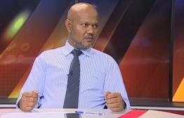 Fuad Zahir, the former head of Maldives Trade Union.