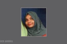 Aminath Nasha Nasheed. PHOTO: MALDIVES POLICE SERVICE