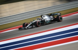 Hamilton taking Texas title tussle in his stride. PHOTO: MARK RALSTON / AFP