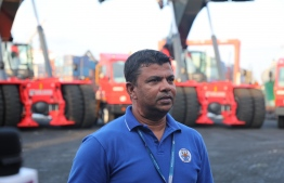 Shahid Ali, managing director at Maldives Ports Ltd (MPL). PHOTO/MIHAARU