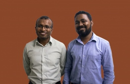 Medical practitioners within the field of Mental Health, Psychiatrist Dr Arif Mohamed (L) and Psychotherapist Abdulla Faseeh. PHOTO: AHMED AIHAM / THE EDITION