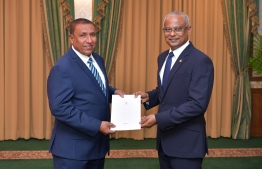 President appointed Jihad to NIC member. PHOTO: PRESIDENTS OFFICE