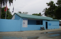 The police station at Gdh. Rathafandhoo