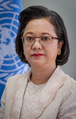 Executive Secretary of ESCAP Armida Salsiah Alisjahbana. PHOTO: UN WOMEN/KEA TAYLOR