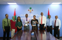 A photograph taken during the ceremony to launch the Maldives Education Sector Analysis (ESA) 2019 and Maldives Education Sector Plan (ESP). PHOTO: MINISTRY OF EDUCATION