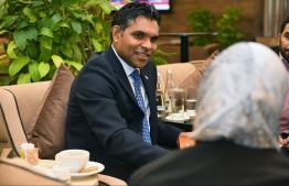 Vice President Faisal Naseem. PHOTO: PRESIDENT'S OFFICE