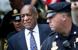 (FILES) In this file photo taken on September 24, 2018 US actor Bill Cosby arrives at court in Norristown, Pennsylvania to face sentencing for sexual assault. - US comedian Bill Cosby, who is serving a three and a half year jail sentence, on December 10, 2019 lost his appeal against his conviction for drugging and sexually assaulting a woman 15 years ago.Cosby had appealed to Pennsylvania's Superior Court, which issued a 94-page ruling upholding his conviction. He could now take his case to the state's Supreme Court. (Photo by Brendan Smialowski / AFP)