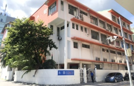 The building which was previously utilized by Mandhu College. PHOTO: NISHAN ALI / MIHAARU