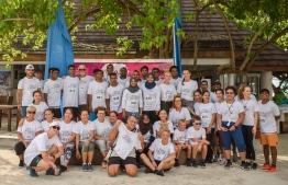 Participants of the fifth 'Viva La Vida' mini-marathon fundraiser in celebration of Bandos Maldives' 47th anniversary. PHOTO: BANDOS MALDIVES