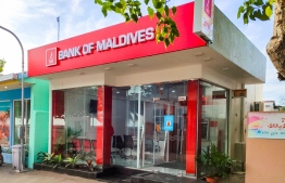 The new branch established in Velidhoo, Noonu Atoll. PHOTO: BANK OF MALDIVES (BML)