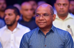 Minister of Foreign Affairs Abdulla Shahid. PHOTO: NISHAN ALI/ MIHAARU
