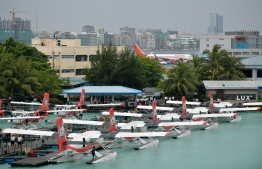 A case was lodged at the Anti-Corruption Commission requesting to halt the lease of MACL's new seaplane terminal to TMA. PHOTO: MIHAARU