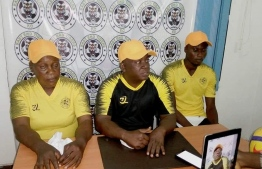 The East End Tigers Football club in Sierra Leones' top flight football appointed Victoria Conteh. It marks a historic first as she becomes the first full-time female head coach to lead a male squad in the country. PHOTO: EAST END TIGERS FC SIERRA LEONE
