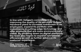 In line with Veligaa's commitment to improve the quality of its services, Veligaa Hardware plans to increase investment in its employees, expand its portfolio with investments in cutting-edge technology. PHOTO: AHMED MAANIS / BRANDS OF MALDIVES