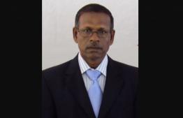 Chief Magistrate of Kanduhulhudhoo Hassan Didi. PHOTO: SOCIAL MEDIA