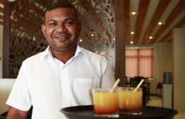 The staff at Pebbles Inn take pride in their personalised services, always ready and accommodating with a smile! PHOTO: HAWWA AMANY ABDULLA / THE EDITION