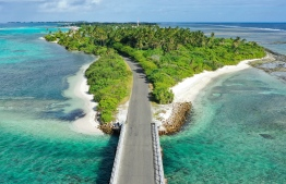 A 20-minute ride from Gan to Hithadhoo,