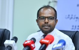 Information commissione Hussain Fiyaz Moosa. PHOTO: MIHAARU