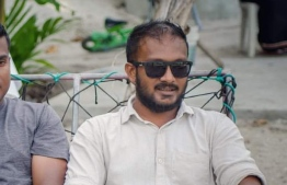 Mohamed Nasih Rasheed, the newly appointed Deputy Minister of Youth, Sports and Community Empowerment.