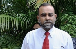Judge Abdulla Mohamed (Ablo Gazee) of the Family Court. PHOTO/MIHAARU