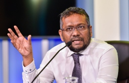 Minister Of Economic and Trade Fayyaz Ismail. PHOTO: MIHAARU