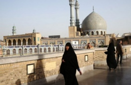 On Monday Iran reopened some places of worship in parts of the country deemed at low risk from the coronavirus. PHOTO: AFP