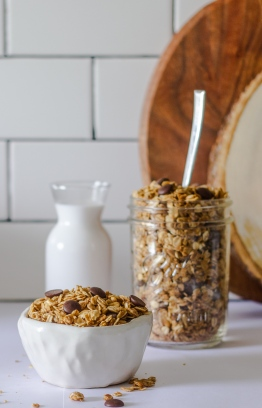 Milkandyolk's Peanut-butter Granola. PHOTO: AISHATH LATHEEF (MILKANDYOLK)