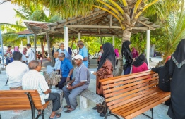 The park established in near Koagannu Cemetery in Hulhumeedhoo under BML's Aharenge Community Fund. In 2019, BML contributed MVR 1 million to support projects in 20 islands. PHOTO: BANK OF MALDIVES