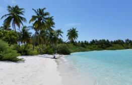 V. Bodumohora as seen from the island's beach. PHOTO: TRIPADVISOR