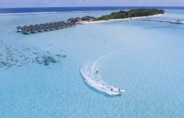 Aerial view of Summer Island Maldives. PHOTO: KAIMOO HOTELS & RESORTS