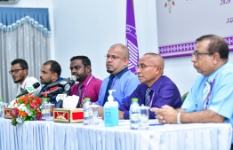 "According to the ""The Special Bill for the Local Council Elections 2020"", only candidates who have gone through the application process and were already approved for the April elections will be allowed to run, while candidates who wish to withdraw shall be afforded the opportunity to do so. PHOTO: MIHAARU"