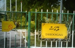 As a measure to contain the COVID-19 outbreak, Addu City gears up by establishing its first quarantine facility at 'Dhoogas', located in the suburb of Gan. PHOTO: MIHAARU