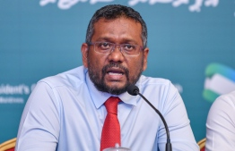 Minister of Economic Affairs Fayyaz Ismail. PHOTO: AHMED AWSHAN ILYAS/ MIHAARU