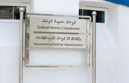 The signage for the Department of Judicial Administration and the Judicial Service Commission. PHOTO: MIHAARU