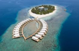 Aerial view of Sandies Bathala Resort. PHOTO/SANDIES BATHALA