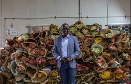 Clement Tulezi, head of the Kenya Flower Council, says the industry has been devastated by the coronavirus crisis. PHOTO: AFP
