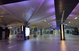Usually a flurry of activity, the ongoing COVID-19 spurred travel restrictions have left VIA, Maldives' main international airport, looking deserted and abandoned. PHOTO: SOCIAL MEDIA / UNKNOWN