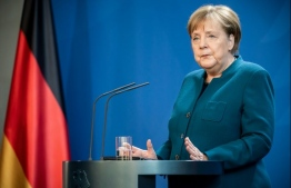 German chancellor Angela Merkel has served as Chancellor of Germany since 2005. She served as Leader of the Opposition from 2002 to 2005 and as Leader of the Christian Democratic Union from 2000 to 2018. A member of the Christian Democratic Union, Merkel is the first female chancellor of Germany. PHOTO: AFP