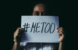 A woman holds up a note with the text #MeToo, as part of the #MeToo movement against domestic and gender-based violence. PHOTO: DOIDAM10/FREEPIK