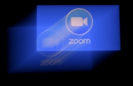 Zoom, a videoconferencing application to get together while staying apart during COVID-19 has seen its market value skyrocket to some $35 billion. PHOTO: AFP