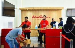 Maldives government announced on Thursday of its decision to facilitate Maldivian families to send care packages to loved stranded in Kochin and Trivandrum in India. PHOTO: MIHAARU